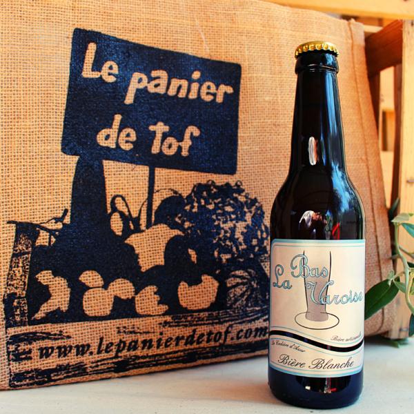 Le panier de tof livraison de paniers fruits et legumes - La Bas Varoise Bière Blanche