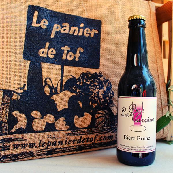Le panier de tof livraison de paniers fruits et legumes - La Bas Varoise Bière Brune